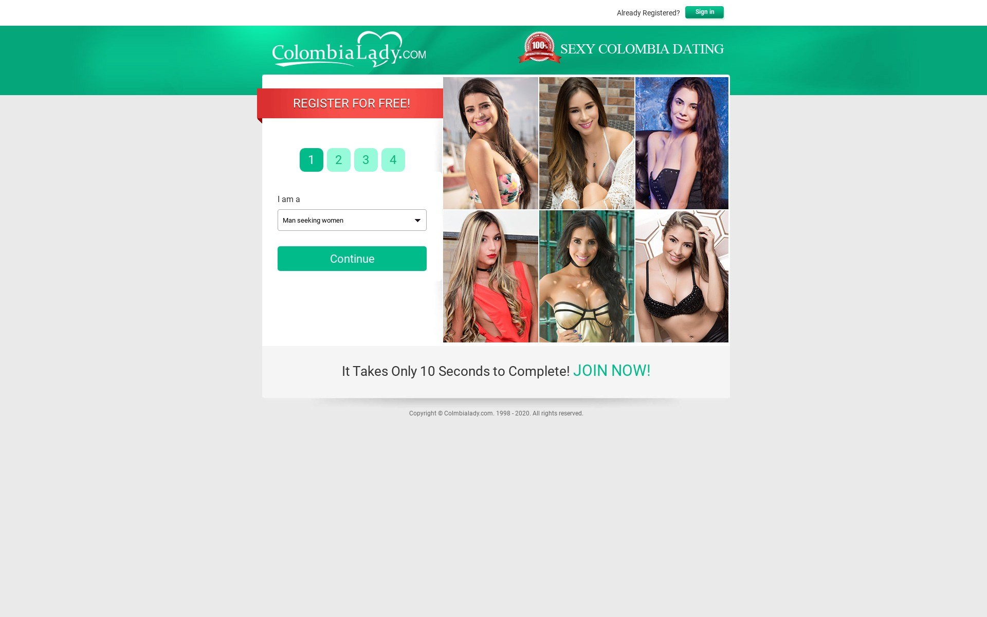 Colombia Lady Site Review Post Thumbnail